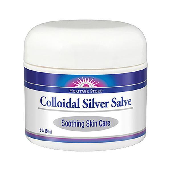 Colloidal Silver Salve, 2oz