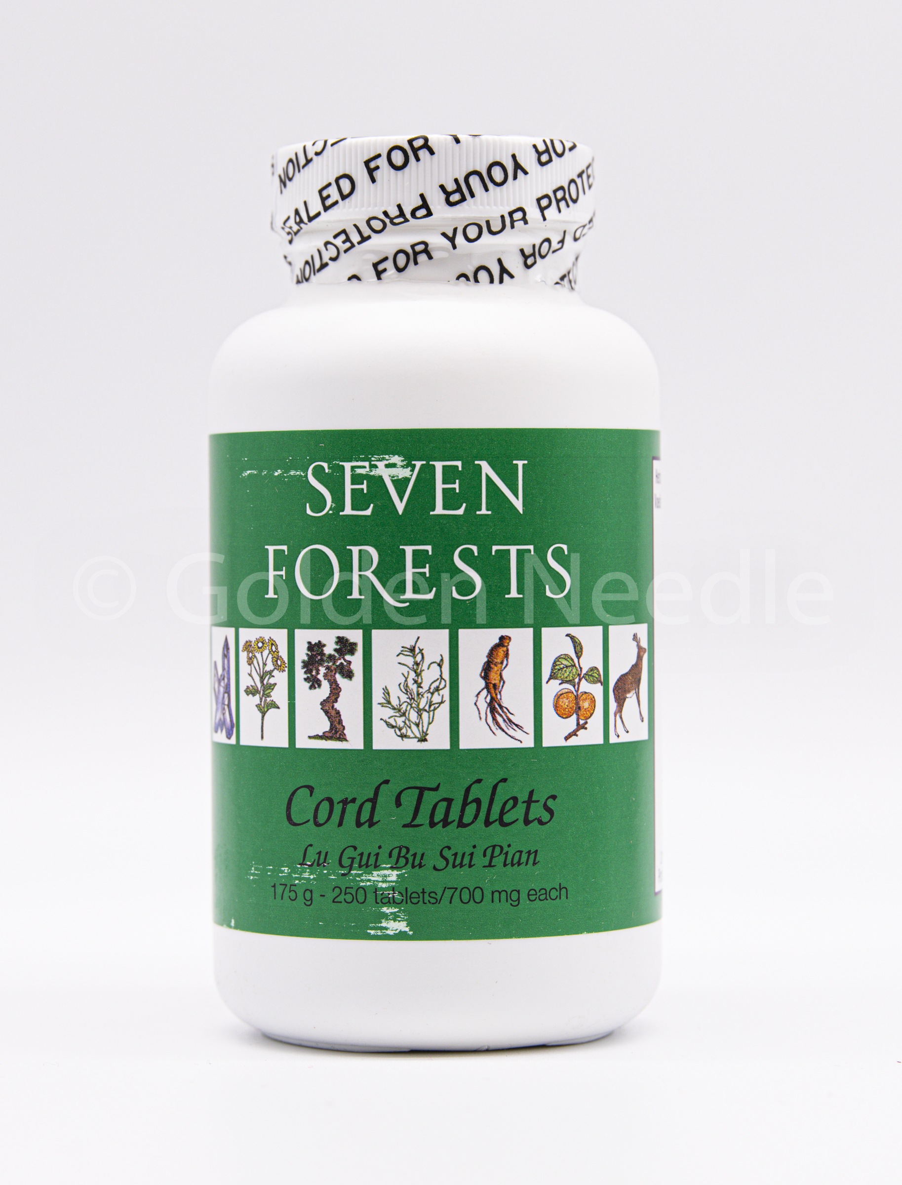 Cord Tablets, 250 tablets