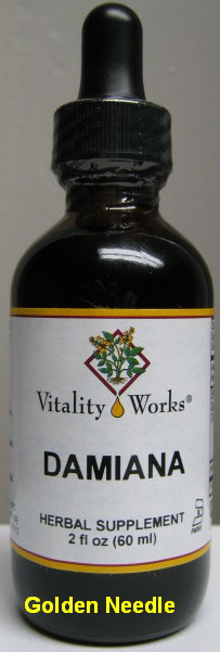 Damiana Extract Tincture, 32 oz