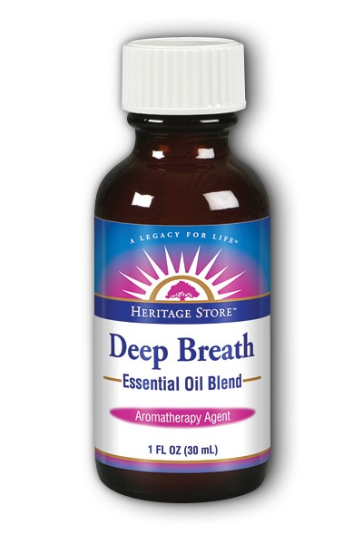 Deep Breath Aromatherapy Blend, 1oz