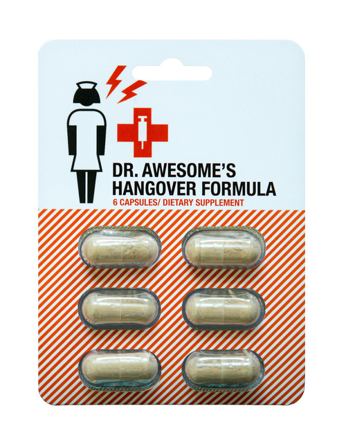 Dr. Awesome Hangover Formula - Single Pack (6 Caps)