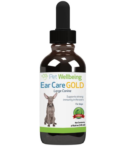 Ear Care Gold, 4oz, for Dogs