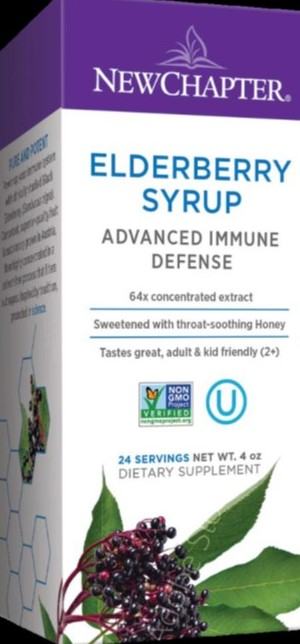 Elderberry Syrup, 4 oz