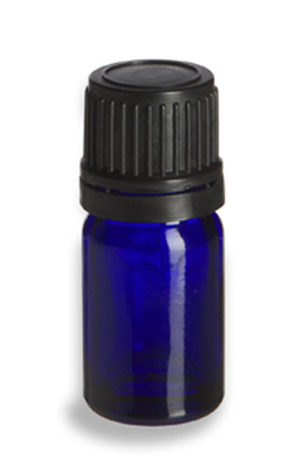 5ml Essential Oil Bottle with Cap and Dripper
