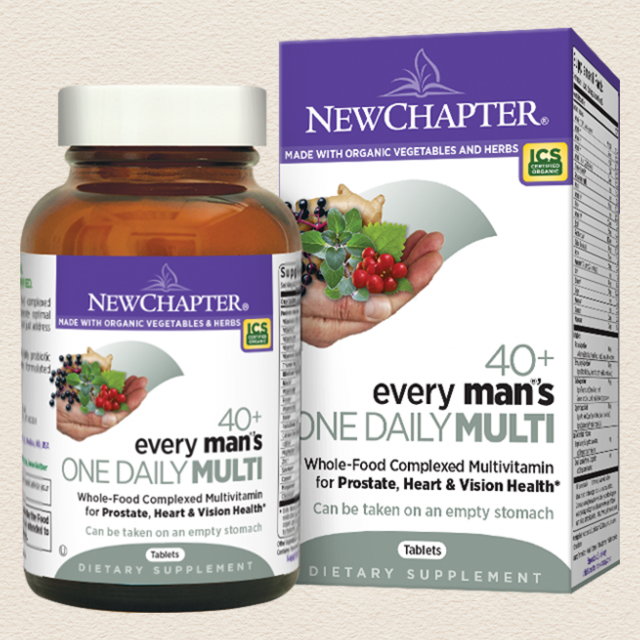 Every Man's One Daily 40+, 48 Tablets (Expires 2/20)