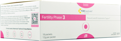 Fertility Phase 3, Granule Packets (EXPIRES 09-10-2021)