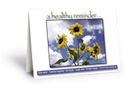 Health Reminder Card - 50 Count