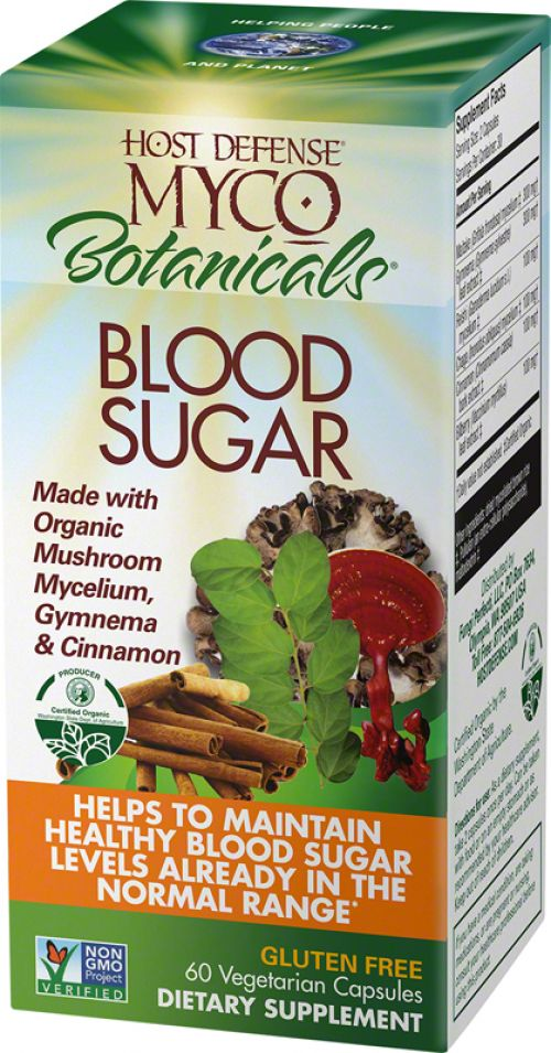 MycoBotanicals Blood Sugar - 60 count