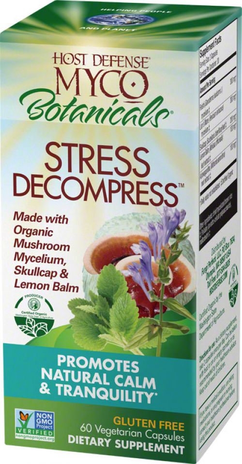 MycoBotanicals Stress Decompress - 60 count