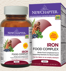 Iron Food Complex, 60 Tablets (Expires 4/20)