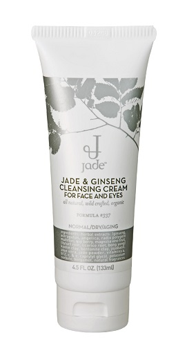 Jade & Ginseng Cleansing Cream for Face and Eyes - Normal to Dry Skin