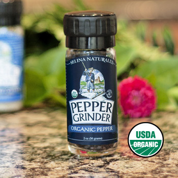Pepper Grinder Large, Organic