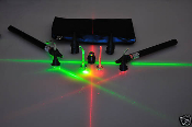 Professional Laser Value Pack (Red, Green and Blue)