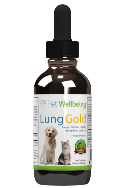 Lung Gold, 2oz, for Dogs & Cats