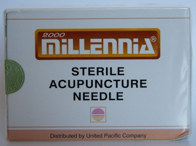.25x40mm - Millennia Bulk Pack Acupuncture Needle (Expires 4/19)