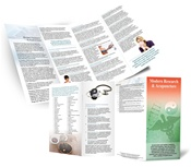 Modern Research Brochure 50 Count