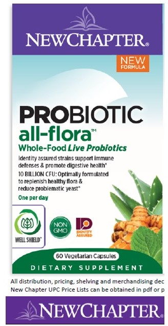 All Flora Probiotic, 60 ct