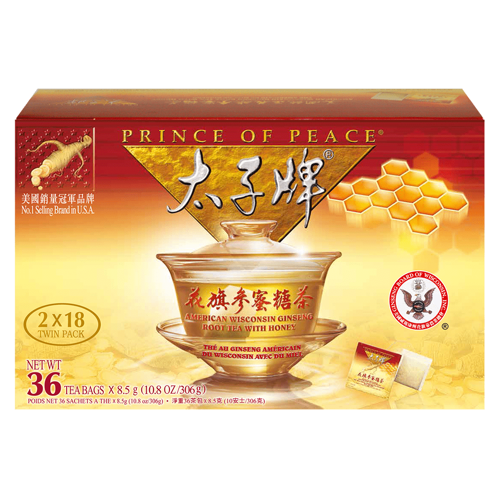 American Ginseng Root Tea w/Honey