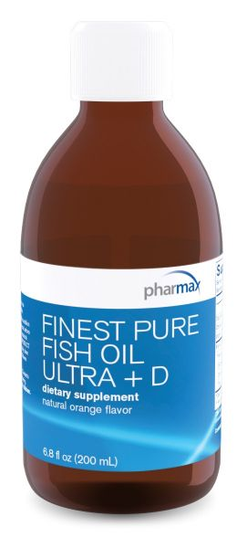 Finest Pure Fish Oil Ultra Plus D (200 ml)