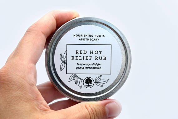 Red Hot Relief Rub
