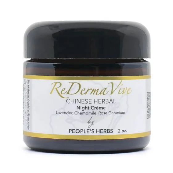 ReDermaVive Chinese Herbal Night Creme