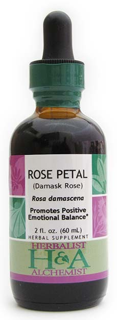 Rose Petal Extract, 8 oz. (Manufactured 5/14)
