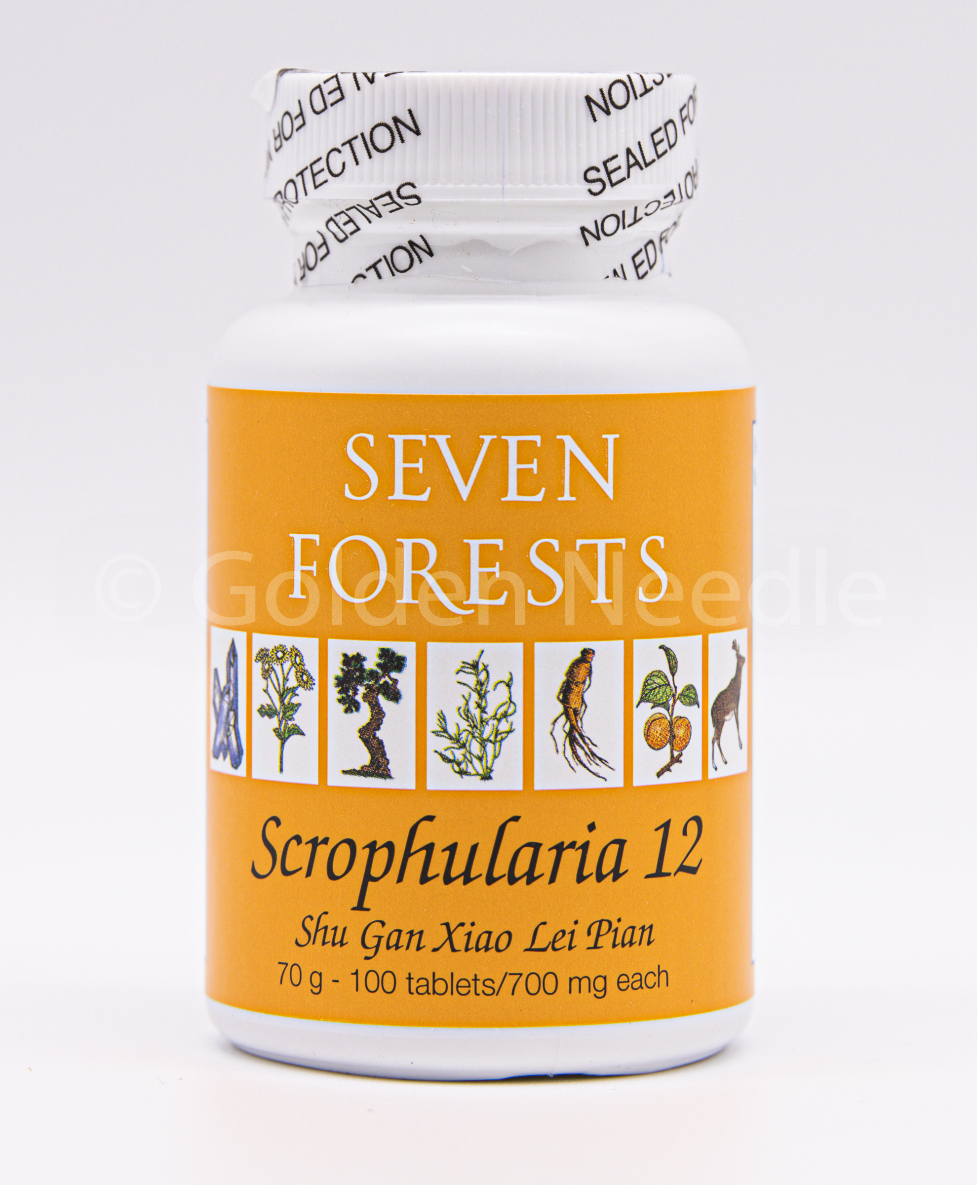Scrophularia 12, 100 tablets