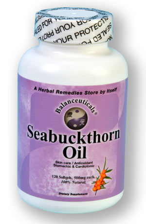 Seabuckthorn Oil, 120 softgels