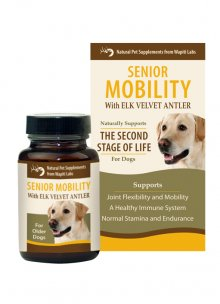 Dog Senior Mobility Pet Supplement, 60 Tablet (expires 4-30-21)