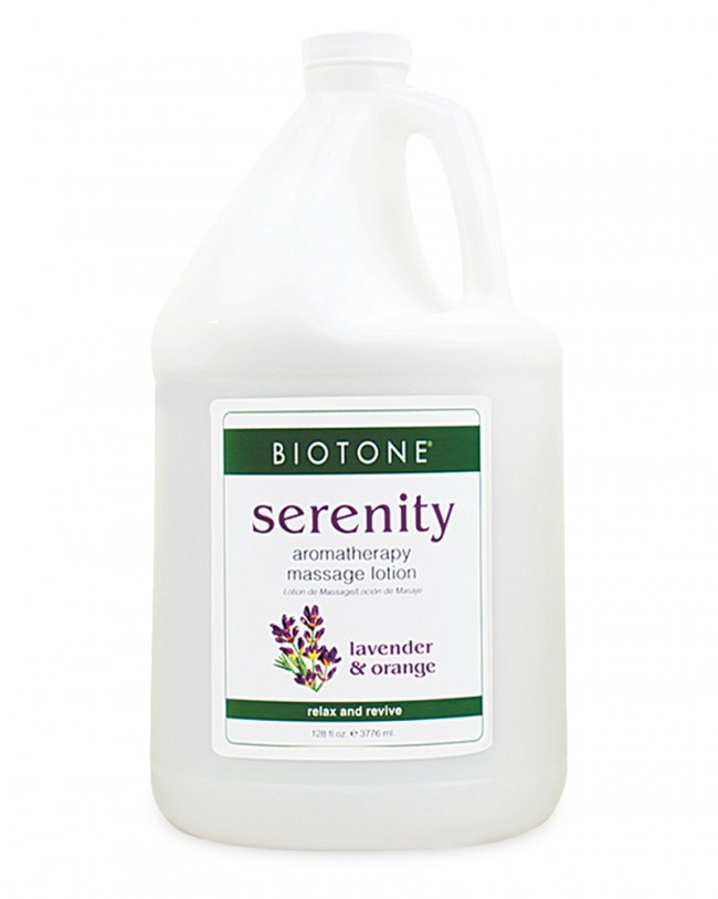 Aroma Therapy Massage Lotion - Serenity, 1 Gal