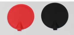 """3"""" Round Silicon Electrodes, Red"""