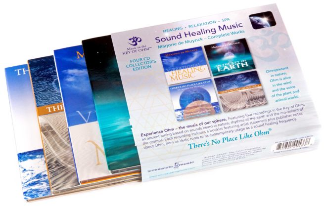 Sound Healing Music – Collector's Edition, Set of 4 CDs