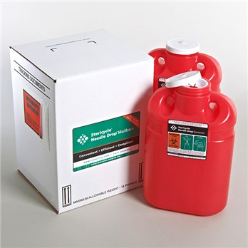 2 - 2 Gallon Sharps by Mail - F