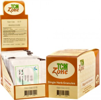 Shan Zha Granules, Single 2g Packet