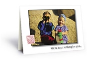 We've Been Looking For You Greeting Card