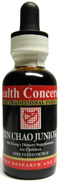 Yin Chao Jr. (Dr. Fung's Cold Formula for Children Herbal Supplement), 1 oz