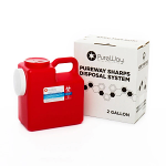 2 Gallon Mail Away Needle Disposal System