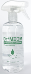 DR+ MEDM Hand Sanitizer, 17oz Spray