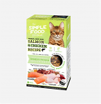 Cat - Salmon & Chicken Recipe, 1.5lb