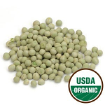 Sweet Green Pea Sprouting Seeds, 1 pound