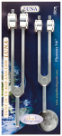 Luna Tuning Fork Set, 210.42hz and 105.21hz