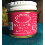 Teath Paste, Lavender Thyme - 3.4 oz (expires 10/20)