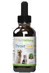Throat Gold, 2oz, for Dogs & Cats