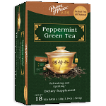 Peppermint Green Tea, 18 Bags