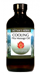Cooling Pitta Oil - Supercritical Organic Oil, 8oz