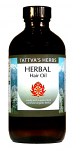 Herbal Hair Oil - Supercritical Organic Oil, 4oz