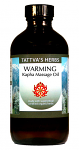 Warming Kapha Oil - Supercritical Organic Oil, 8oz