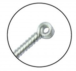 .25x25mm - Aculux C Series Spring Handle with loop