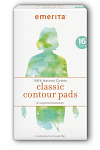 Natural Cotton Classic Contour Pads
