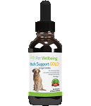 Itch Support Gold, 4oz, for Dogs
